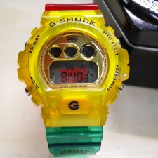 G SHOCK IN4MATION RASTA JELLY PROMOTION