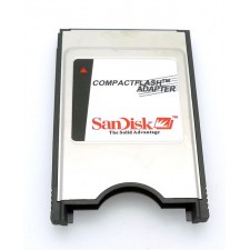 ScanDisk PCMCIA PC Card CF Compact Flash adapter reader CNC FANUC