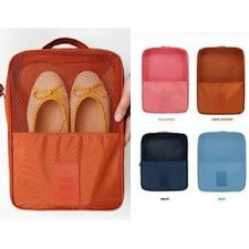 Waterproof Foldable Travel Shoes Pouch Organizer Bag