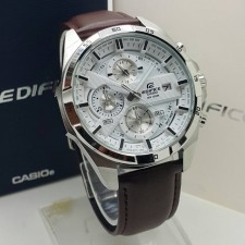 TRENDING WATCH ‼️ Casio Edifice Brown Leather Strap