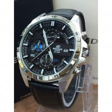 Casio Edifice Leather L11 Gred Premium High Quality With Box