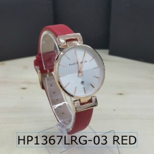 Hush Puppies Date OE Series HP1367LRG Leather Fashion Watch