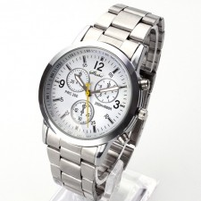 Men´s Luxury Stainless Steel Business Watch