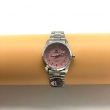 S.K polo women's stainless steel watch Pink