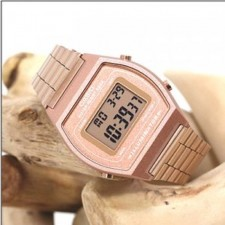 Casio Rose Gold and Black Gold