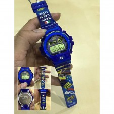 CASIO G-Shock DW6900 VR46 All Blue Transparent