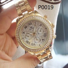 P0019  BS Diamond Watch with Box & Paper Bag