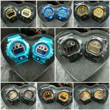 Couple Set G Shock & Baby G Watches (AJM 3927)