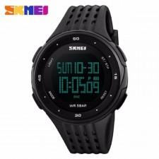 SKMEI 1219 Outdoor Sports Watch Double Time Alarm LED Digital Watch