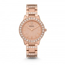 Fossil ES3020 Rose-Tone Stainless Steel Watch