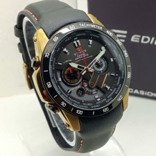 CASIO EDIFICE M1000 LEATHER STRAP ALL SUBDIAL FUNCTIONING