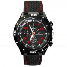 GT Number Military Pilot Silicone Sport Watch Men - 383