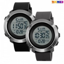 SKMEI WTH-321 New Digital Men Wristwatches With Double Time LED Display