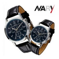 Luxury Couple Leather Watches