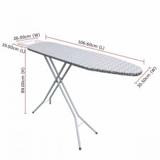 OEM Ironing Board MY-70V2 (106.60cm x 30.50cm) For Steam & Dry Iron Use