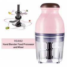 RS-682 Mini Electric Multipurpose Hand Blender Food Processor and Mixer