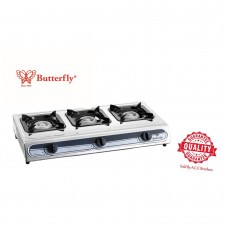 Butterfly Triple gas stove BGC-3011L