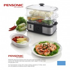 Pensonic Big 12L Food Steamer PSM-162S (Stainless Steel Housing)