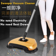 Sweeper Broom Floor Vacuum Cleaner