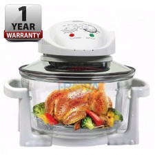 12L Halogen Turbo Convection Oven w/ Glass Bowl (1 YEAR WARRANTY)