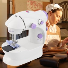 4 IN 1 High Speed Multi-Function Portable Desktop Sewing Machine