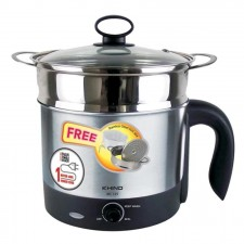 KHIND MC12S Stainless Steel Mini Multi Cooker (1.2L)