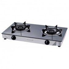 MORGAN Glass Gas Stove MGS-8512 - Black