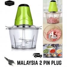1.5L Large Electric Kitchen Food Chopper Meat Vege Grinder Food Blender Mincer