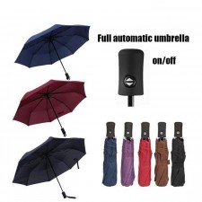 Automatic Auto Open Close Foldable Windproof Umbrella Quick Operation Sturdy