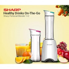 Sharp EM-60PM-WH Personal Blender 300 Watts