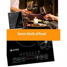 Electric Ceramic Induction Cooker - Black 2500 W (KEA0160BK)