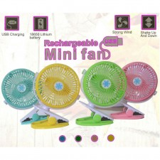 Mini Rechargeable Baby Stroller/ Angle Adjusment Fan