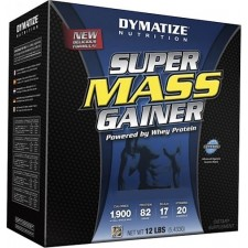 Dymatize Super Mass Gainer 12lbs Chocolate