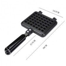 Square Shape Waffle Pan Maker Baking Pan