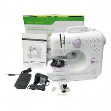 Sewing Machine Pro Upgraded 12 Sewing FHSM 505A Mini Sewing Machine Mesin Jahit