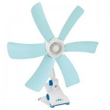 Portable Mini 6 Blades Leaf Adjustable Energy Saving Clip Fan