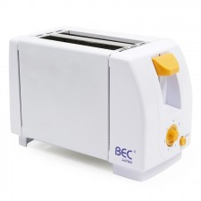 BEC 2 Slice Electric Toaster White -SIRIM APPROVED