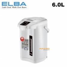 ELBA ETP-D6013(WH) 6.0L Thermo Pot Hot Air Pot