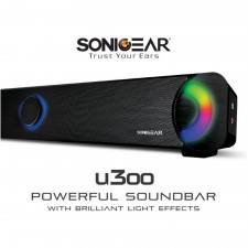 SonicGear U300 Soundbar with Light Effect