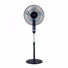 "Midea Stand Fan 16"" With 5 Blade & Timer MF-16FS15F"