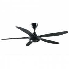"Sharp 56"" Remote Control Ceiling Fan - PJC116 (Black/White)"