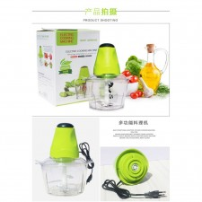 2.0 L Electric Food Processor Meat Grinder (2 pin malaysia plug)