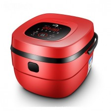 Smart Home Multifunctional 3D Rice Cooker (3-5 pax) - Red/White
