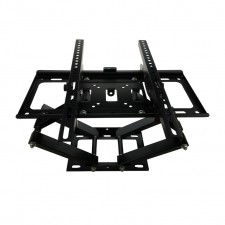 LCD LED TV Full Motion Adjustable Wall Mount Bracket 26˝-55˝ Double Arm Swivel