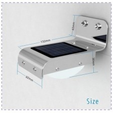 Solar Infrared 16 LED Motion Security Light Lamp