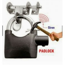 SIREN ALARM PADLOCK for DOOR/Motor/Bike/Car PAD LOCK