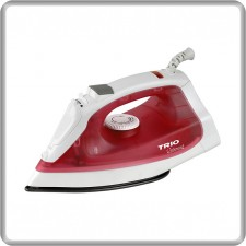 TRIO Steam Iron TISB-127 Water Spray Non-Stick Soleplate (1600W)