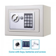 E-SONIC Small Digital Electronic Safe Box Keypad Lock Home Office New Safety Box