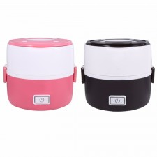 Portable Electric Heating Container Steaming Lunch Box - 2 Colors Available