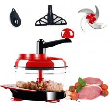 Household Multifunctional Swift Chopper Manual Food Processor